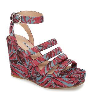 Charles David Womens Collection Judy Pink Wedges